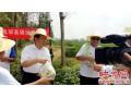 正阳县长王东征慰问息邢高速测绘人员